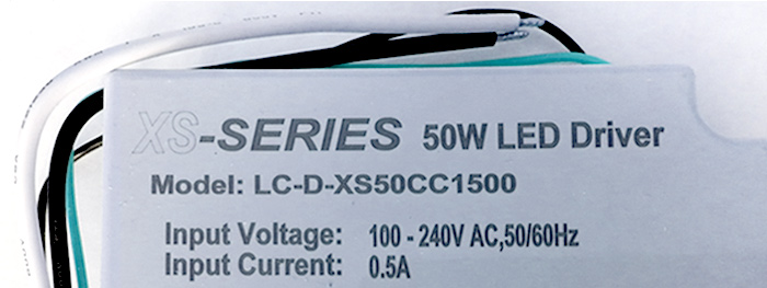 LEDcorp extends their high performance LED driver range with the new XS-Series LED driver